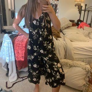 Floral Jumpsuit